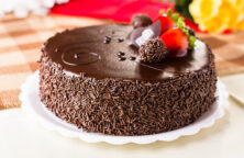 taart met chocolade