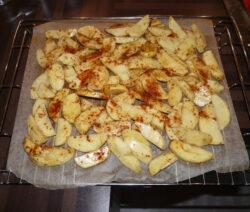 aardappelen uit oven