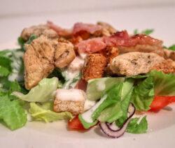 salade met kalkoen