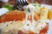 kip met kaas