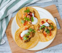 taco deeg garnalen